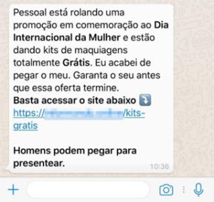golpes no whatsapp